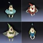 Four Birdy Girls by Vanessa Raffi Backer. Photos by Steve Rossman