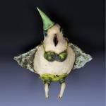 Birdy Girl Peg by Vanessa Raffi Backer. Photo by Steve Rossman.