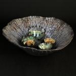 Tidepool Bowl by Vanessa Raffi Backer. Photography by Steve Rossman.