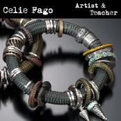 Celie Fago - Metal Clay Artist