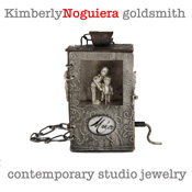 Kimberly Nogueira - Metal clay artist and sculptor