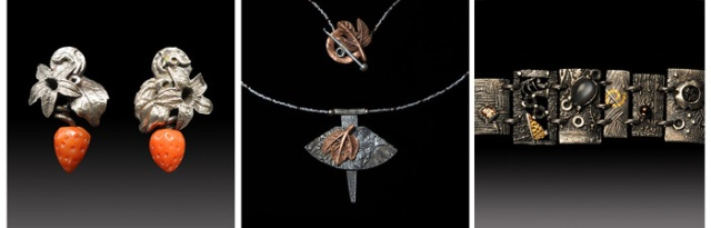 Jewelry by Jonna Faulkner. Jewelry photography by Steve Rossman.