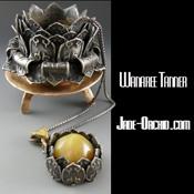 Wanaree Tanner - Jade Orchid - Metal clay artist