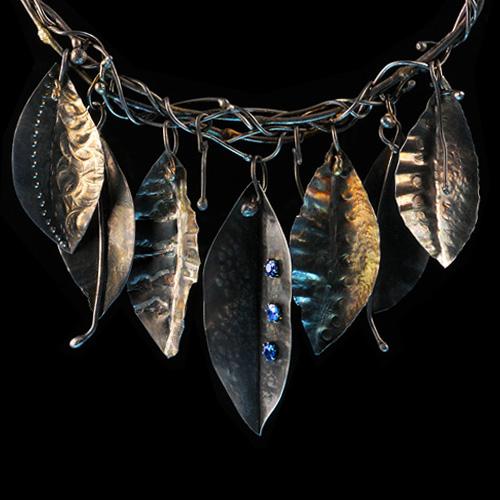 Jewelry by Jan R. Spencley. Jewelry photography by Steve Rossman.