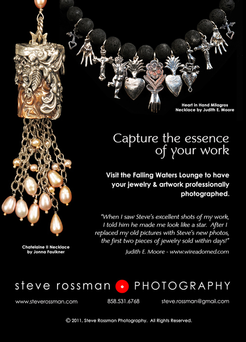 Art Clay World Conference promotional postcard for Steve Rossman Photography