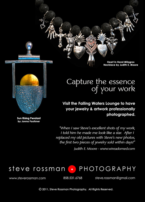 Metal Clay World Conference-postcard by Steve Rossman