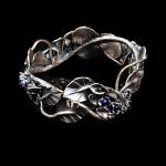 Garden Dreams Bracelet by Michela Verani. Jewelry Photography by Steve Rossman.