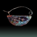 Fibula Pin by Christine Halverson. Jewelry Photography by Steve Rossman