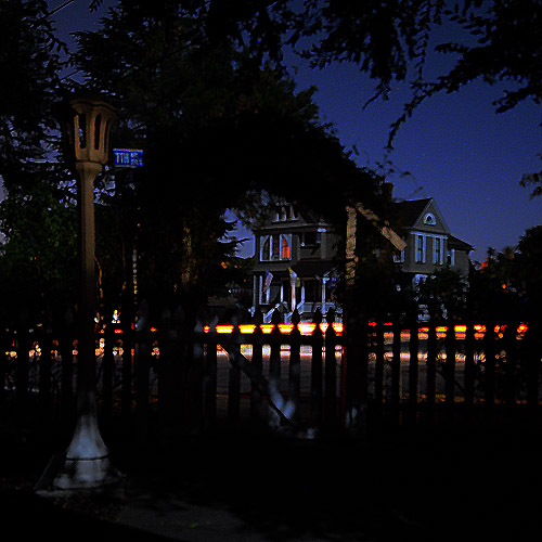 Blackout in Escondido. Night Photography by Steve Rossman