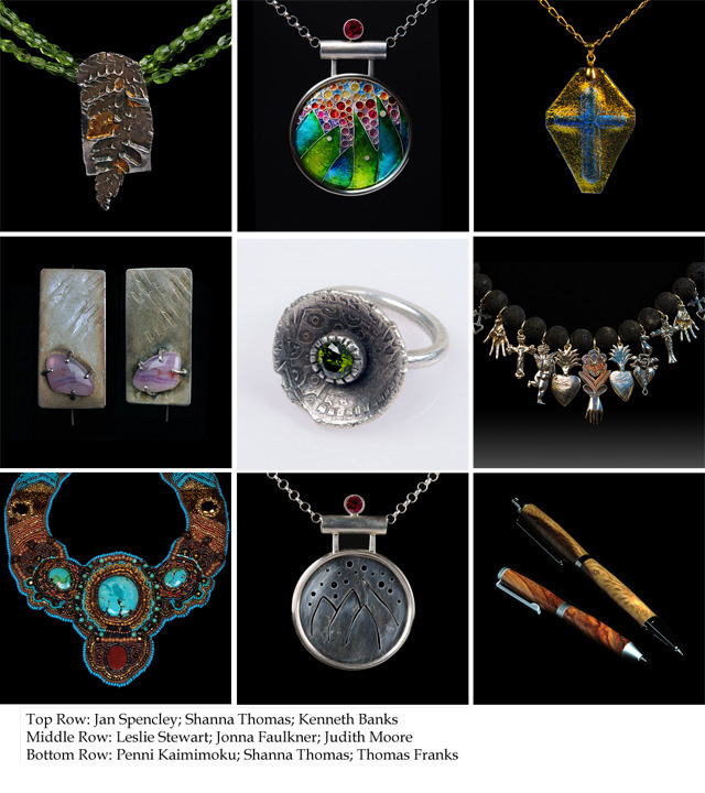 SDCE Jewelry Photography class collage. Photos by Steve Rossman.