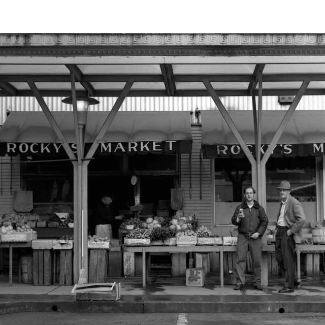 Rocky's Market.  Photography by Steve Rossman