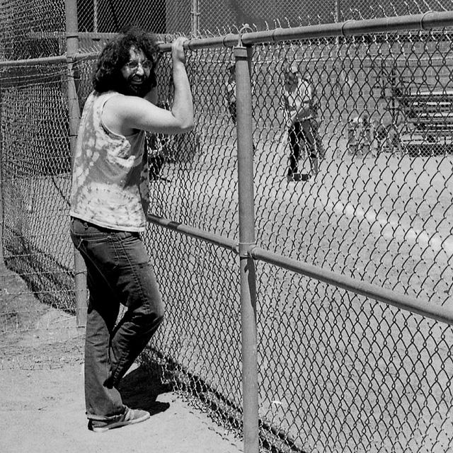 Jerry Garcia, Marin circa 1975.  Photo by Steve Rossman