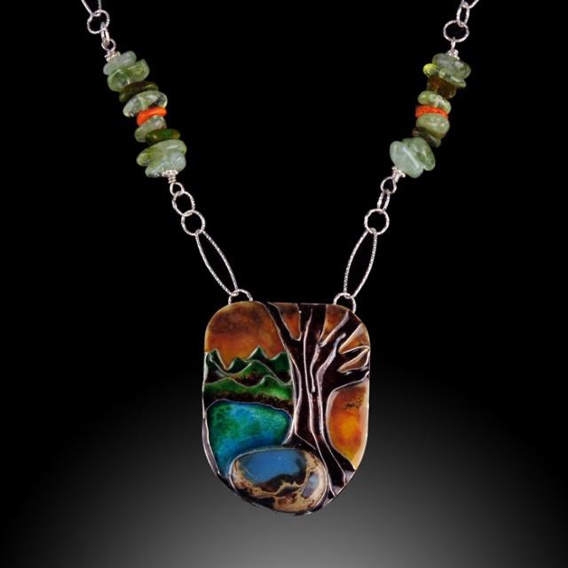 Patricia Weilbacher - Tree of Life. Jewelry Photography by Steve Rossman