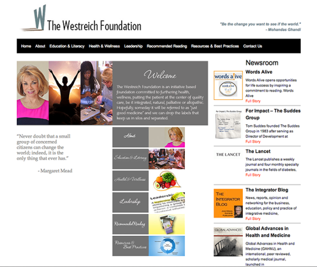 TWF Website designed by Steve Rossman Photo + Marketing.