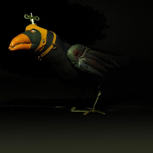 Faulkner-Whitehill -Steampunk Raven