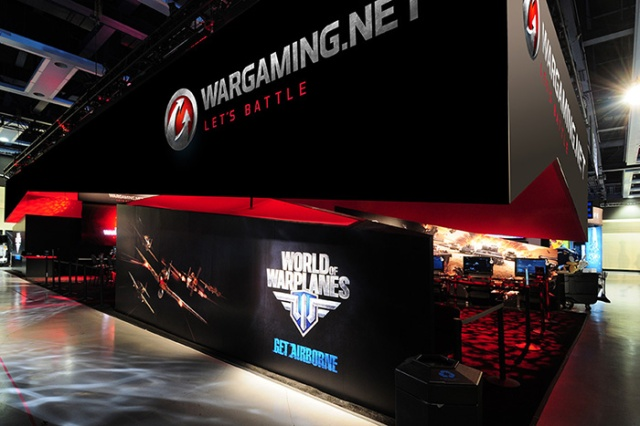 The Trade Group - Wargaming.net at PAX .  Photo by Steve Rossman
