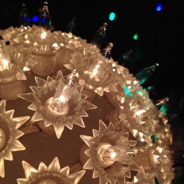 Christmas Sphere - Christmas lights photography by Steve Rossman